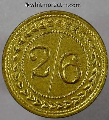 Value Stated Token Pickering Independent Bazaar 26mm Gilt Brass