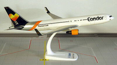 Condor Boeing 767-300ER 1:200 Flugzeug Modell Winglets Hearts B767 Thomas Cook