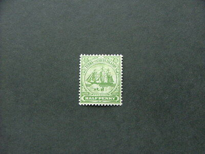 Turks & Caicos Islands 1905 1/2d green SG110 MM