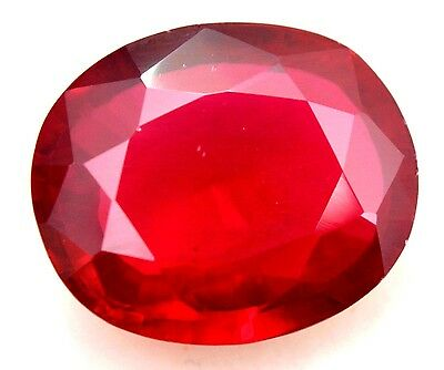 AGSL Certified 40.05Ct Natural HUGE Red Ruby Mozambique Oval Cut Amazing AA+ Gem