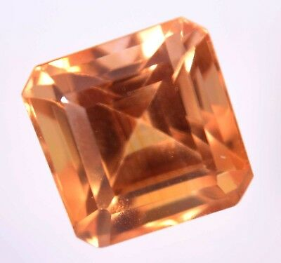 VVS 7.40 Ct Natural Ceylon Padparadscha Sapphire AGSL Certified AAA+ Gemstone