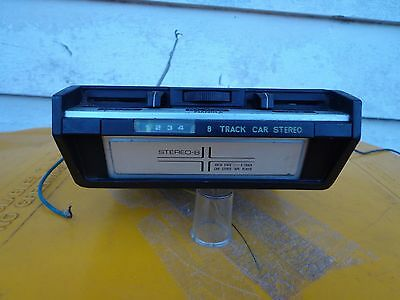8 Track Car Stereo Pianola 1970's Holden Ford Valiant Chrysler Chev Pontiac Vw