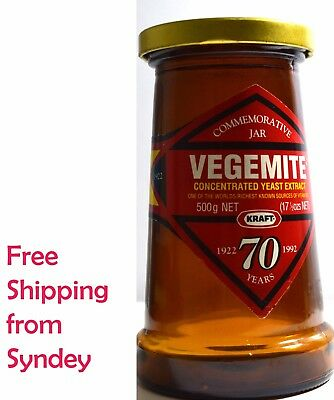 Vegemite Jar Vintage Collectors Item Rare Limited 1992 Free Shipping