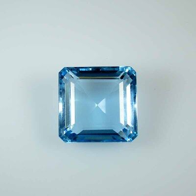 94.71Cts NATURAL BEAUTY SKY BLUE TOPAZ SQUARE CUT LOOSE GEMSTONES 53-33