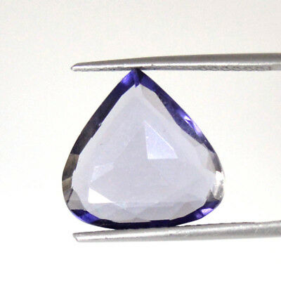 IOLITE CUT 5.92 Cts EXCELLENT NATURAL BEAUTY HEART SHAPE LOOSE GEMSTONES 63-18