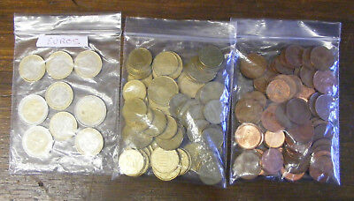 Over €22 in mixed bag of Euro coins holiday money from Charity donation boxes
