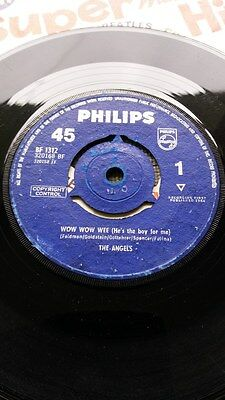 """The Angels - 'wow Wow Wee'   1964 Philips 7"""""""
