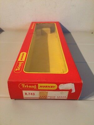Hornby Dublo 20 Ton Tube Wagon Original Empty Box