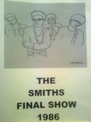 The Smiths The Final Concert 1986 DVD ***RARE***L@@K***