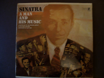 "Frank Sinatra.  ""A Man And His Music"""