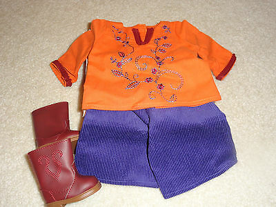 American Girl Myag Julie Casual Dog Walking Outfit  New In Box Retired