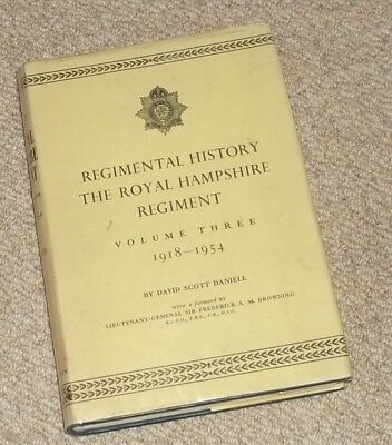 Royal Hampshire Regimental History