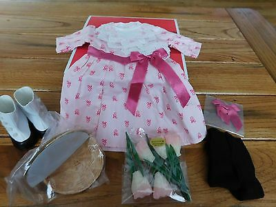 American Girl Samantha  Ltd Edition  2015 Flower Picking Outfit Nib Retired