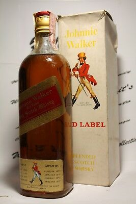 Whisky Johnnie Walker  + box , very old  , cl 0,75 , 43%