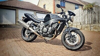 Triumph Speed Four 600cc Black  Like Street Triple Hornet Bandit CBR