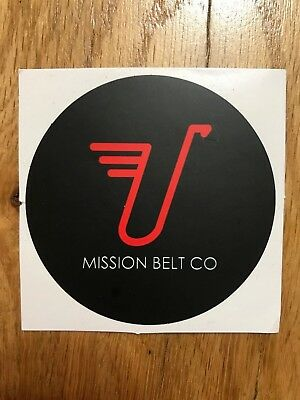 Mission Belt Company - Ratchet Belt - Decal/sticker - New