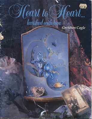 PAINTING  BOOK - HEART TO HEART...lavished with love by Gretchen Cagle