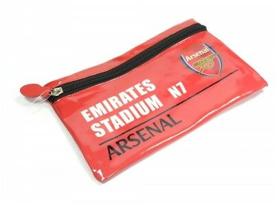 Arsenal FC Football Club Red Design Club Crest Pencil Case Official Licensed Pro