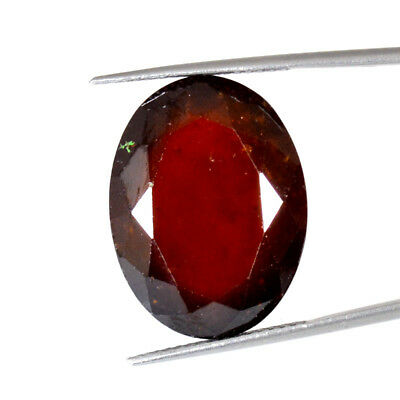 HESSONITE GARNET CUT 40.57Cts NATURAL QUALITY OVAL GEMSTONES 72-27