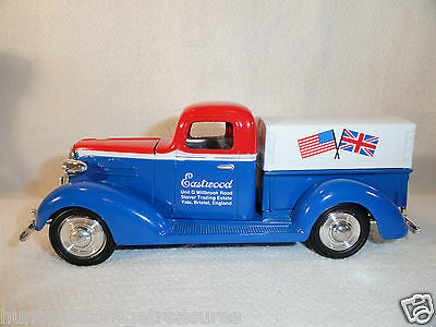 Eastwood UK #2 1937 Chevrolet Pickup Truck Chevy Die Cast Bank DieCast Die-Cast