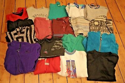 Vintage Job Lot Unbranded Sweaters & Tops | 16 Pieces