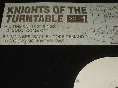 Knights Of The Turntable Vol. 1       KING BEE / YOUNG MC / TINMEN