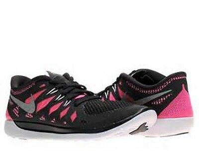 NIKE Free 5.0 GS Running Shoes NIB* Youth Size 5 / 37.5  Black Pink