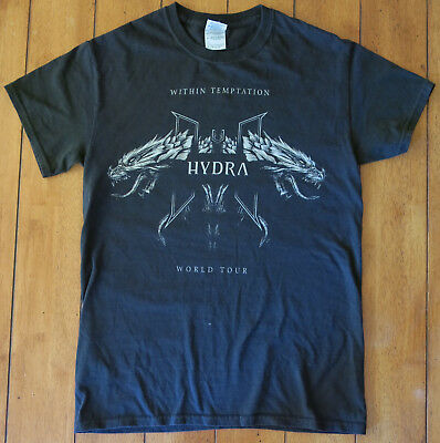 Within Temptation, 2014 European Tour T-Shirt, Small
