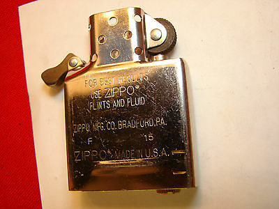 Genuine Zippo Insert Made In Usa New        110207