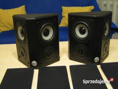 Wharfedale WH-2 Surround Rear Speakers 4-8 ohms 10-120watts BiPolar