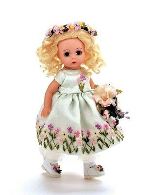 "Beautiful Madame Alexander ""Spring Garden Flower Girl"" Doll 34390 NRFB; VHTF!"