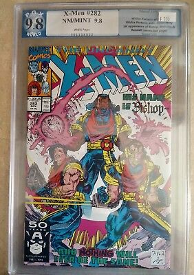 Uncanny X-Men #282  PGX 9.8 NM+  WHITE PAGES 1st Bishop Not cgc or cbcs ...