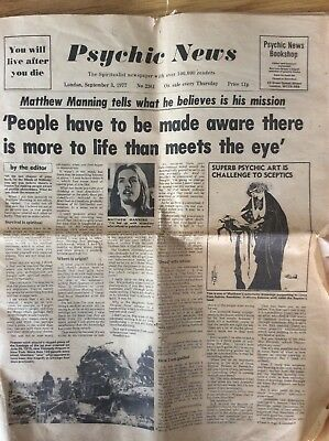 Psychic News From 1977 No 2361 Newspaper
