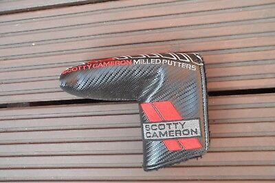 "Scotty Cameron "" Milled Putters "" Putter Head Cover,"