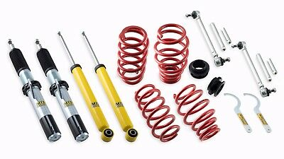 Mts Technik Coilovers For Seat / Skoda / Vw