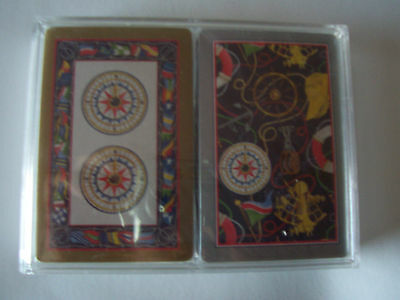 Vintage Bridge Double Deck Playing Cards - Cape Shore Paper Products, Me