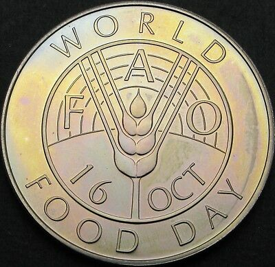 EAST CARIBBEAN STATES 10 Dollars 1981 - FAO World Food Day - aUNC - 1002 ¤