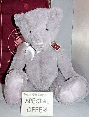 UNDER HALF PRICE! Charlie Bears First Bear LARGE PEBBLE GREY (Brand New!)