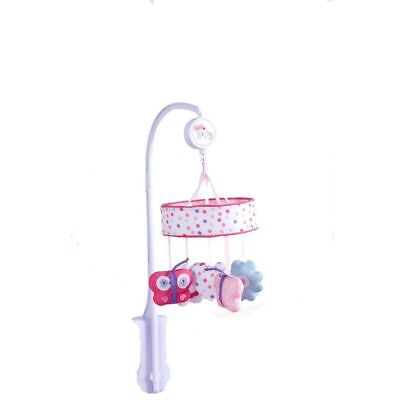 Redkite Pink Pretty Kitty Musical Mobile - Nursery Wind Up Girls Cot Mobile