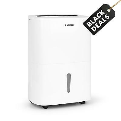 Electric Dehumidifier 530 W Portable Bathroom Timer Dust Odour Free White Drying