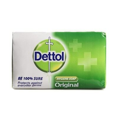 NEW Dettol Original Soap Anti-bacterial 1 Pack 120g FREE SHIPPING Protect Grems