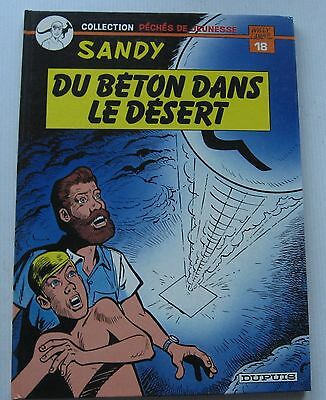 OF THE CONCRETE DANS LE DESERT Collection Sins of youth SANDY No.18 EO 1984 NEW