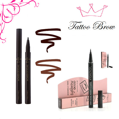 7 Days Branded Eyebrow Tattoo Pen Liner Long Lasting Makeup UK Delivery