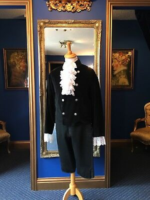 Handsome Men's 18th Century Period Theatrical Jacket, Lovely Detailing!!
