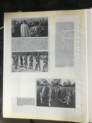 Unusual Scap book / Photo Album about the US advance in Germany during WW II