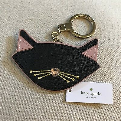 *Halloween SALE* kate spade Jazz Things Up Cat Keychain