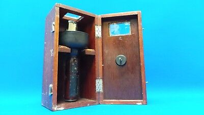 Vintage Handheld Sestrel Compass in Dovetailed Box - F. Smith & Co, Southampton