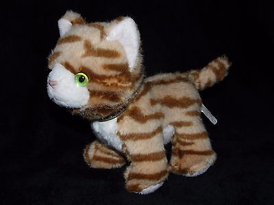 RUSS CAT SOFT TOY GINGER ORANGE BROWN COMFORTER No. 34170