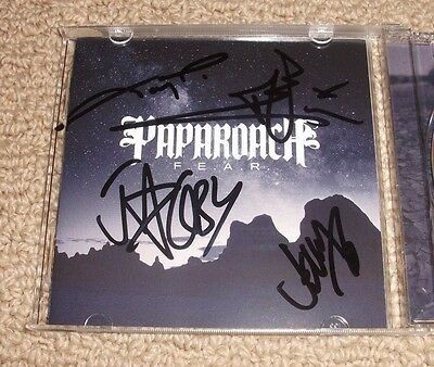 Papa Roach - SIGNED F.E.A.R. CD *Band Autographed* JACOBY SHADDIX