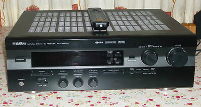 Yamaha Rx-V396Rds    5.1 Channel  Receiver + Remote